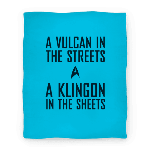 A Vulcan In the Streets Blanket