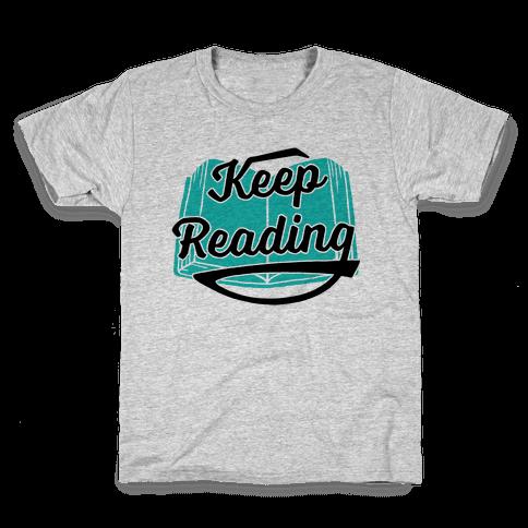 Keep Reading Kids T-Shirt