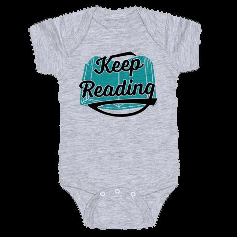 Keep Reading Baby Onesy