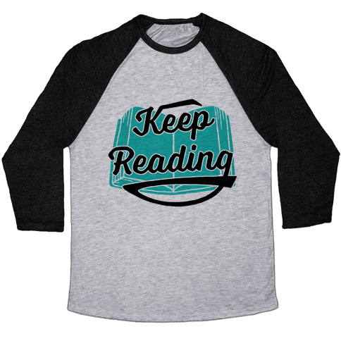 Keep Reading Baseball Tee