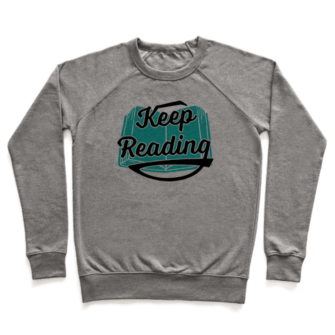 Keep Reading Pullover