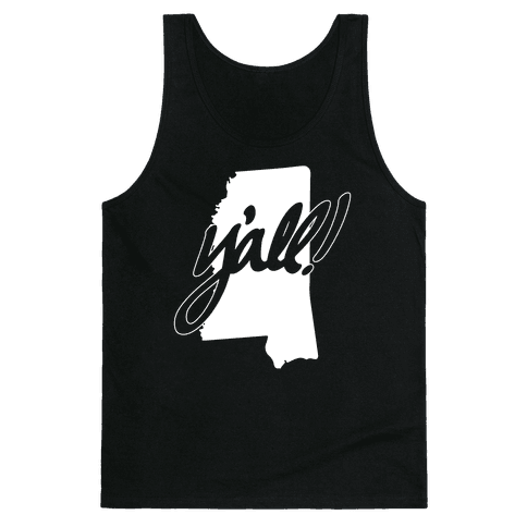 Y'all! (Mississippi) Tank Top