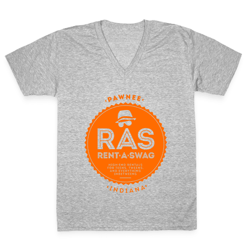 Rent A Swag V-Neck Tee Shirt