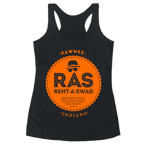 Rent A Swag Racerback Tank Top