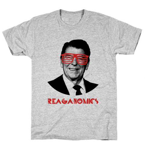 Reaganomics Mens T-Shirt