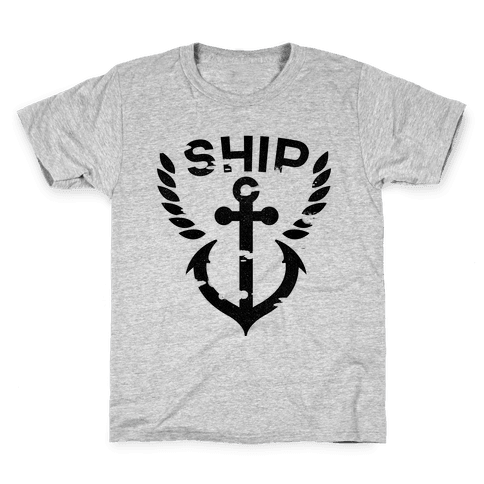 Ship Mates Glo (ship) Kids T-Shirt