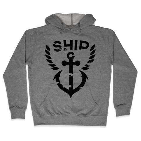 Ship Mates Glo (ship) Hooded Sweatshirt