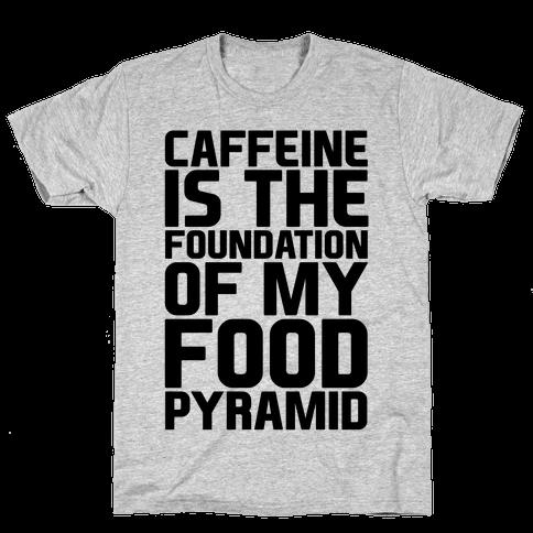 Caffeine Foundation Mens T-Shirt