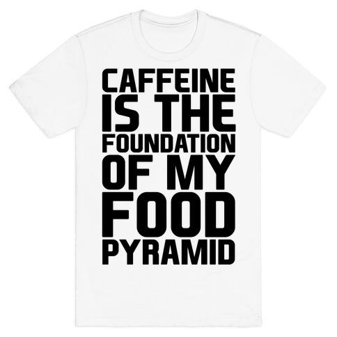 Caffeine Foundation T-Shirt   LookHUMAN