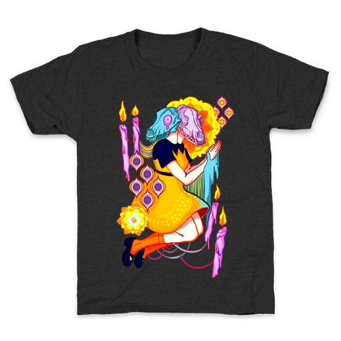 Kaleidoscope Prayer Kids T-Shirt