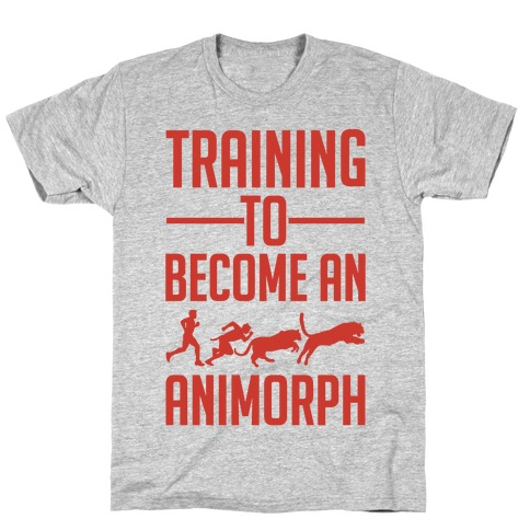 Training To Become An Animorph Mens T-Shirt