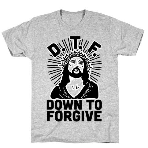 D.T.F. Jesus Mens/Unisex T-Shirt