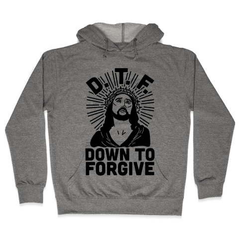 D.T.F. Jesus Hooded Sweatshirt