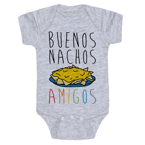 Buenos Nachos Amigos Baby Onesy