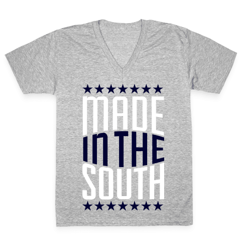 Made in the South V-Neck Tee Shirt