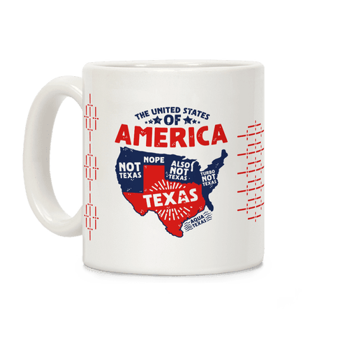 United States of Texas Coffee Mug