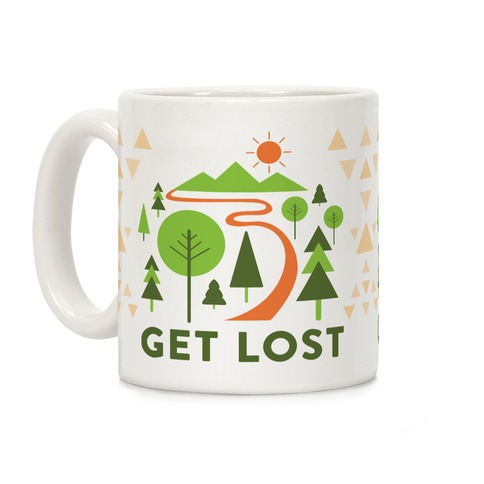 Get Lost Coffee Mug