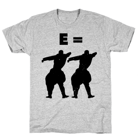 E = MC Hammer 2 (Original) Mens T-Shirt