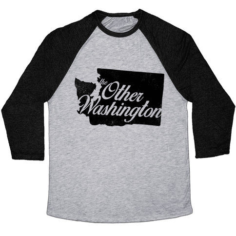 The Other Washington Baseball Tee