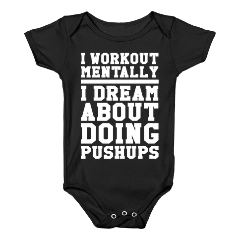 Dream Workout Baby Onesy