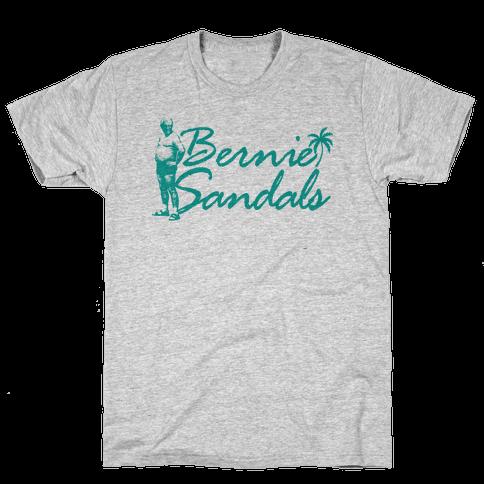Bernie Sandals Mens T-Shirt