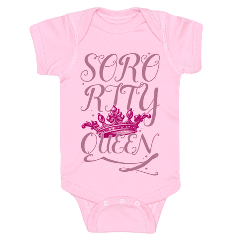 Sorority Queen Baby Onesy