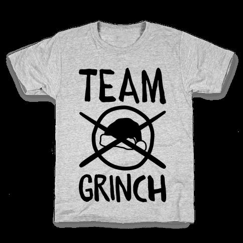 Team Grinch Kids T-Shirt