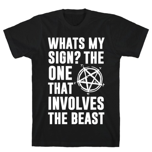 What's My Sign? The Beast T-Shirt