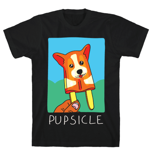 Pupsicle Mens T-Shirt