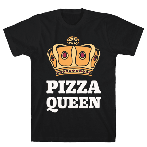 Pizza Queen Mens T-Shirt
