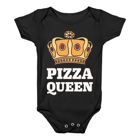 Pizza Queen Baby Onesy