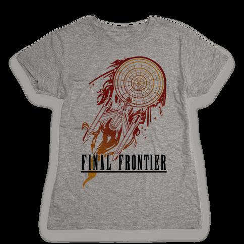 Final Frontier Womens T-Shirt