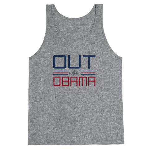 Out with Obama Tank Top
