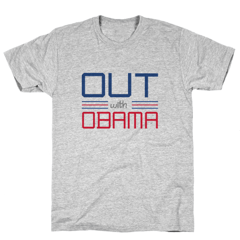 Out with Obama Mens T-Shirt