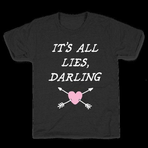 All Lies Kids T-Shirt