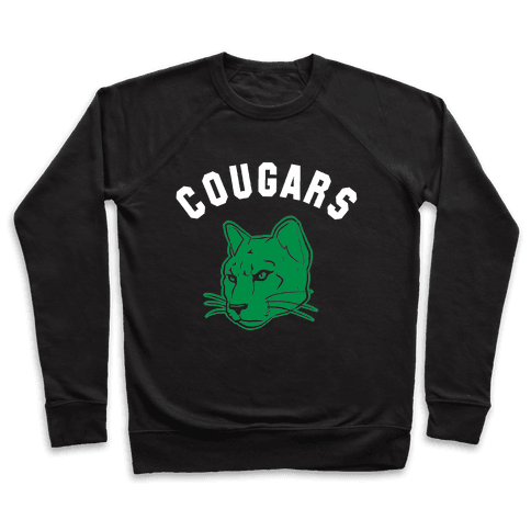 Cougar Green Black & White  Pullover