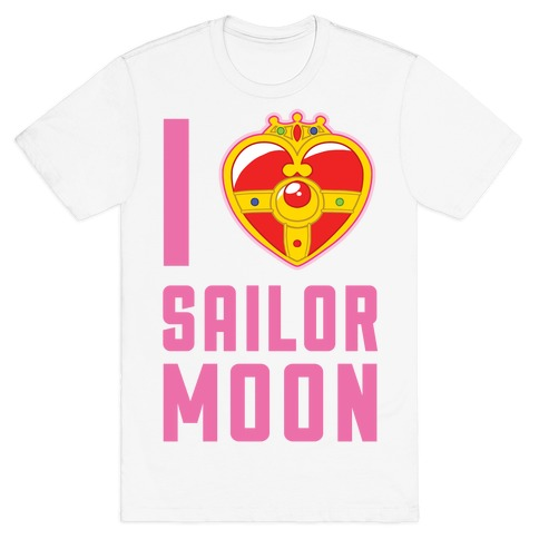 I Heart Sailor Moon T-Shirt