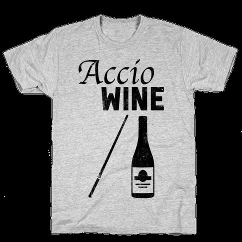 Accio WINE Mens T-Shirt
