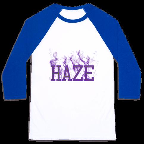Purple Haze Baseball Tee