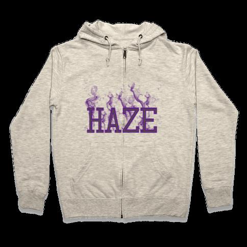 Purple Haze Zip Hoodie