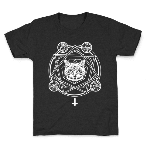 Witch's Cat: The Elements Kids T-Shirt