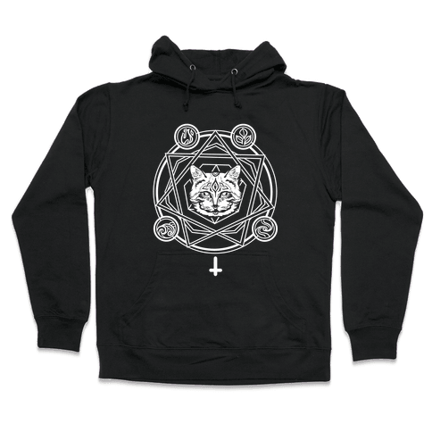 Witch's Cat: The Elements Hooded Sweatshirt