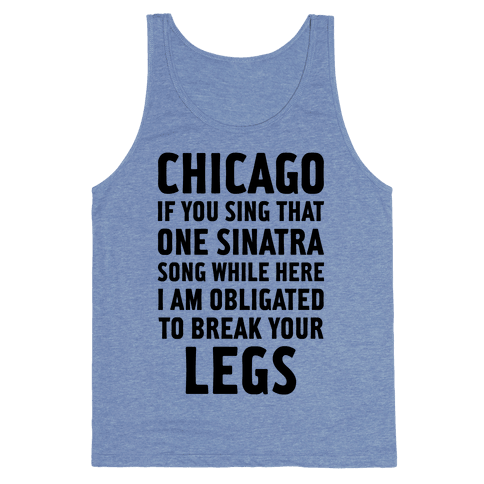 That One Sinatra Song Tank Top