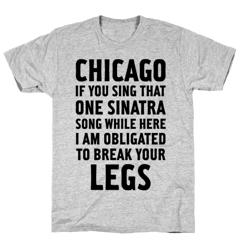 That One Sinatra Song Mens T-Shirt