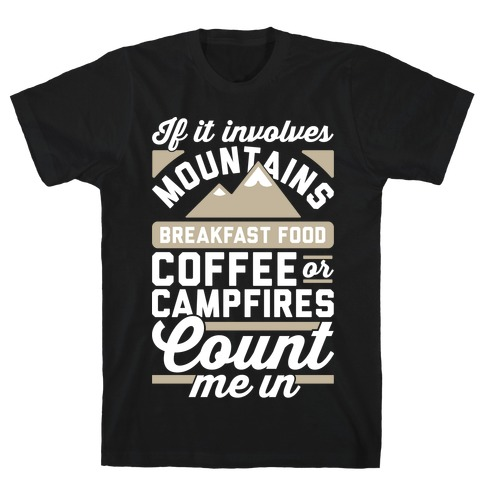Count Me In T-Shirt