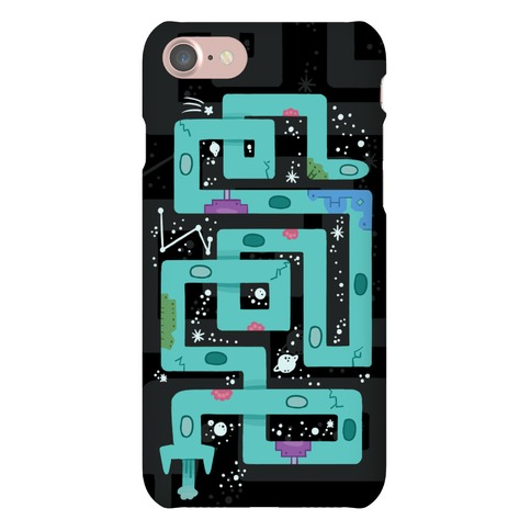 Twisty Turny Spaceship Phone Case