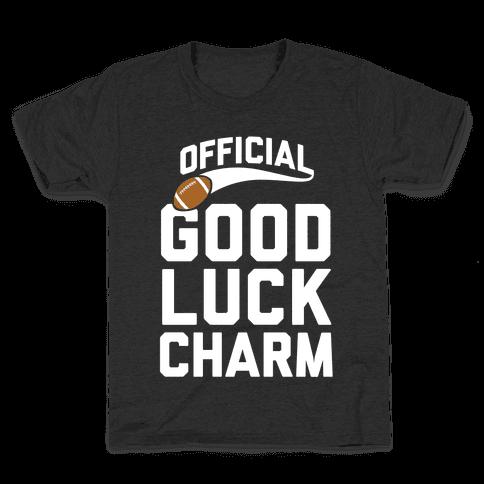 Football Good Luck Charm Kids T-Shirt