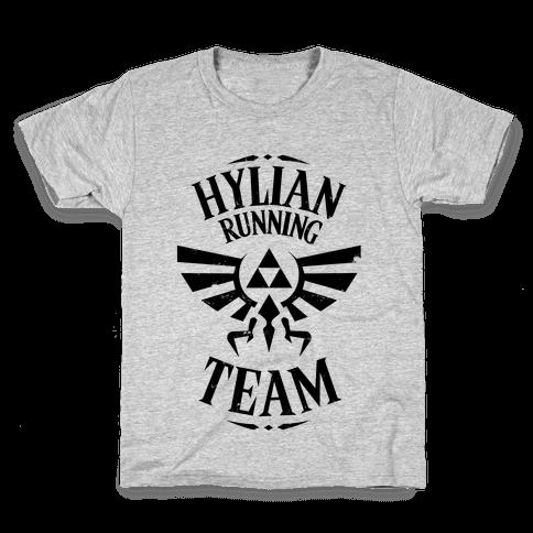 Hylian Running Team Kids T-Shirt