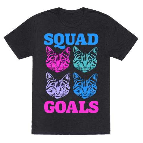 Cat Squad Goals