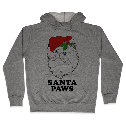 Santa Paws Hooded Sweatshirt